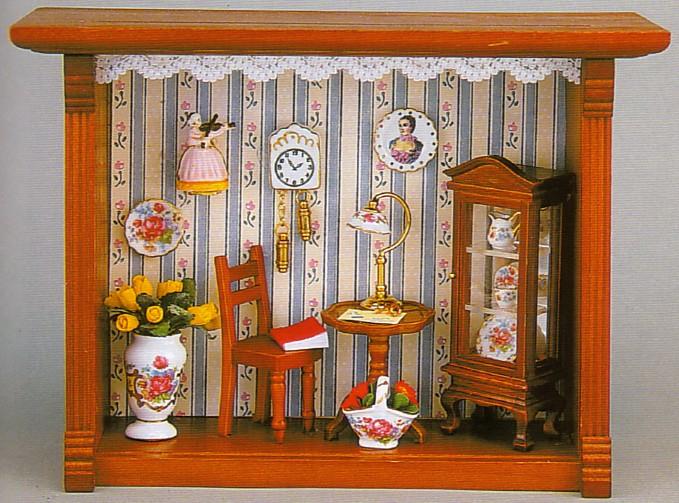 Картина для кукольного домика