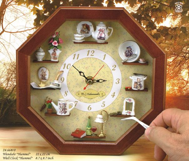 Настенные часы своими руками с фото